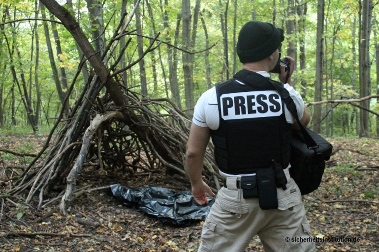 SIB Reporter  Begleitschutz Krisengebiete