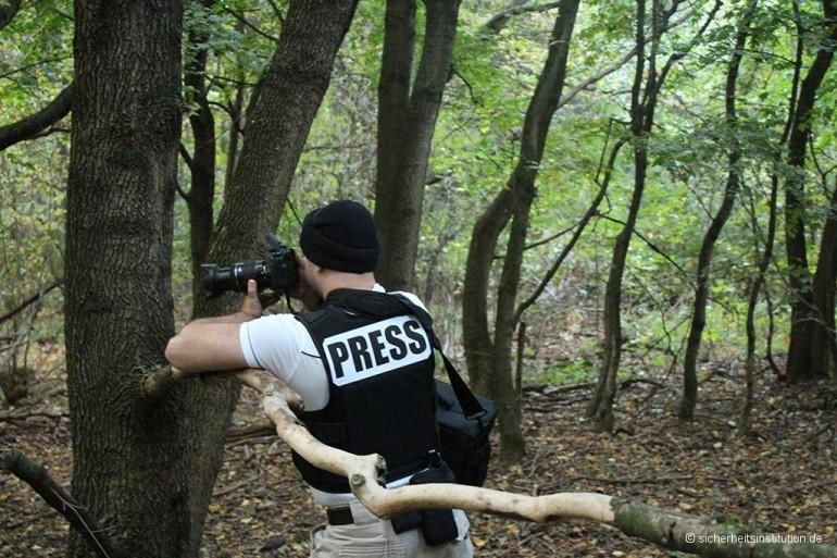 SIB Begleitschutz Reporter Presse