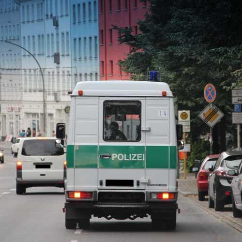 Die Berliner Polizei